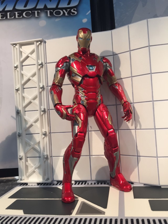 Marvel Select Civil War Iron Man Mark 45 Figure 2016 Toy Fair