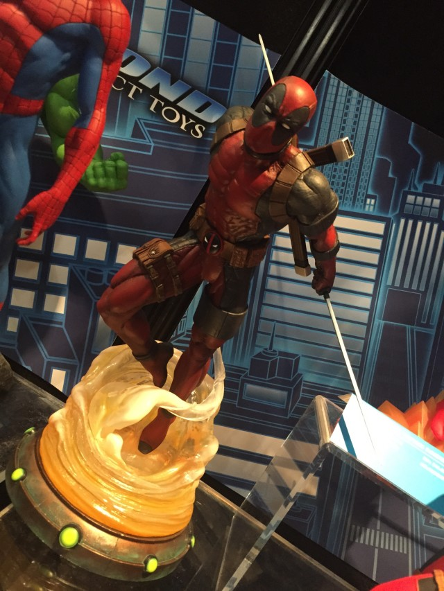 Marvel Gallery Deadpool Statue New York Toy Fair 2016