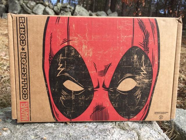 Deadpool Marvel Collector Corps Box