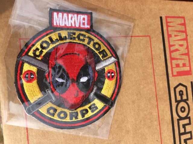 Marvel Collector Corps Deadpool Patch