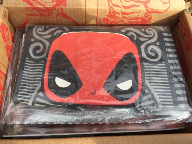 Marvel Collector Corps Deadpool Shirt Red