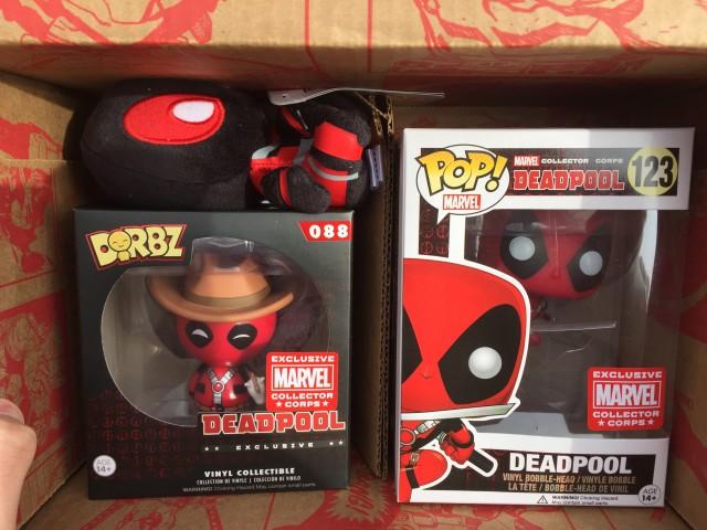 Funko Marvel Deadpool Box Exclusive Toys