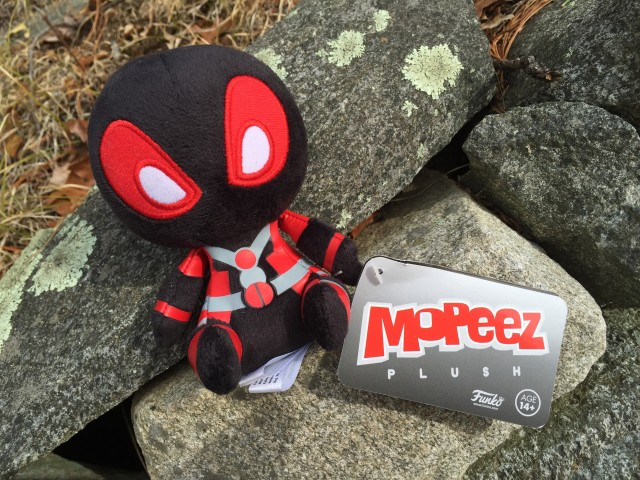 Collector Corps Exclusive Black Deadpool Mopeez Plush
