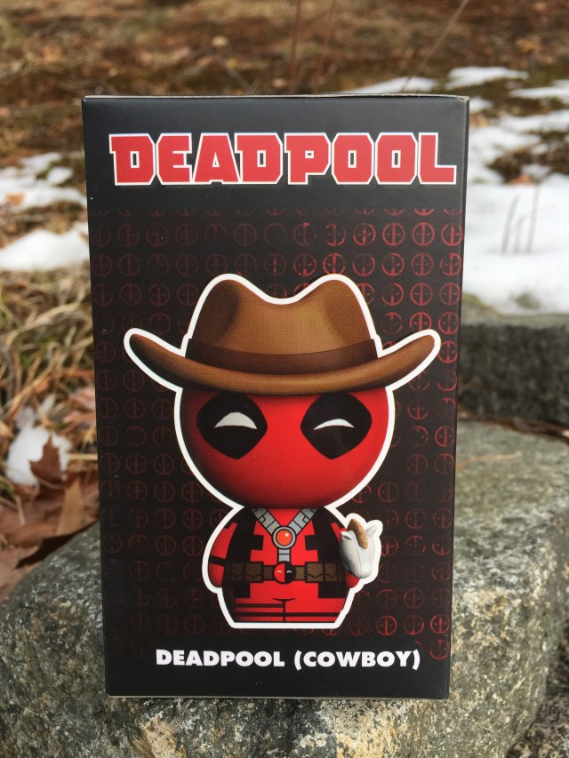 Box Side Cowboy Deadpool Funko Collector Corps Exclusive