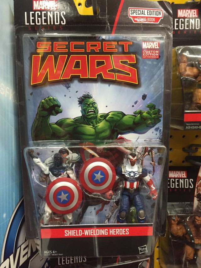 Marvel Legends Sam Wilson Captain America & Major Victory Figures