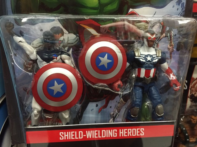 Marvel Legends Shield Wielding Heroes Comic Pack Two-Pack