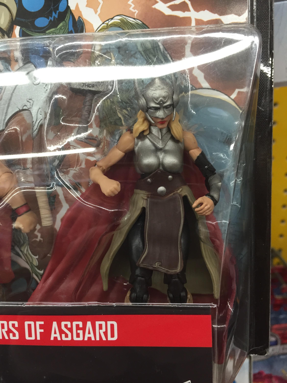 "Marvel Legends Jane Foster 3.75/"" Figure Thor Defenders of Asgard COMIC PACK"