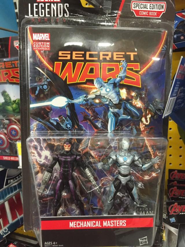 Marvel Legends Comic Pack Machine Man & Superior Iron Man