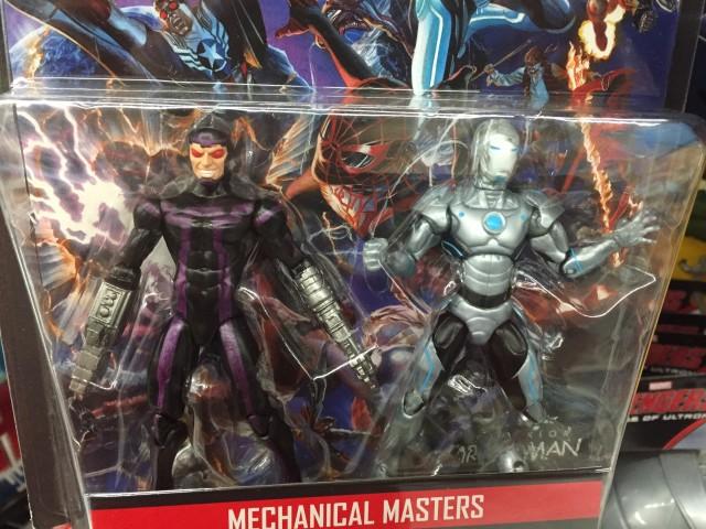 Marvel Legends Mechanical Masters Comic Pack