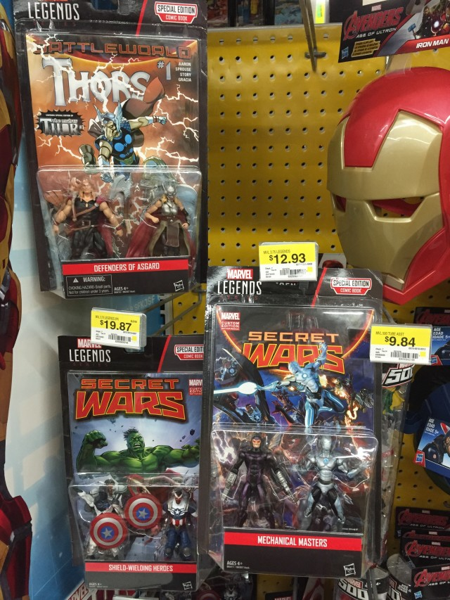 Marvel Legends 2016 Comic Packs Two-Packs Released