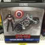 Marvel Legends Civil War Captain America & Motorcycle Released!