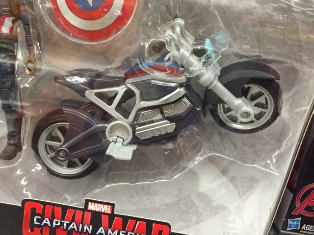 """Marvel Legends Motorcycle for Captain America 4"""" Scale"""