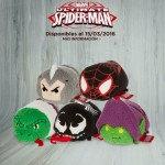 Ultimate Spider-Man Tsum Tsums Plush Revealed! Venom!