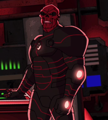 Iron Skull Red Skull Screenshot from Avengers Assemble Cartoon