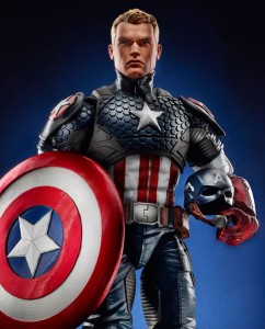 Marvel Legends 12 Inch Captain America Figure 2016 Hasbro