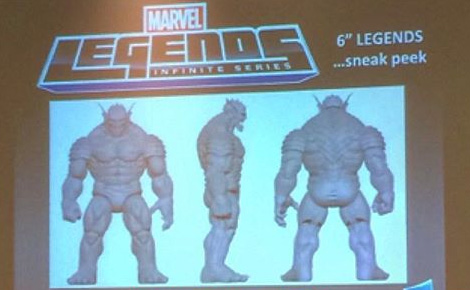 Marvel Legends Abomination Build-A-Figure SDCC 2015