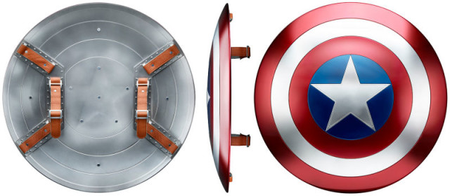 Marvel Legends Captain America Shield Life-Size Hasbro