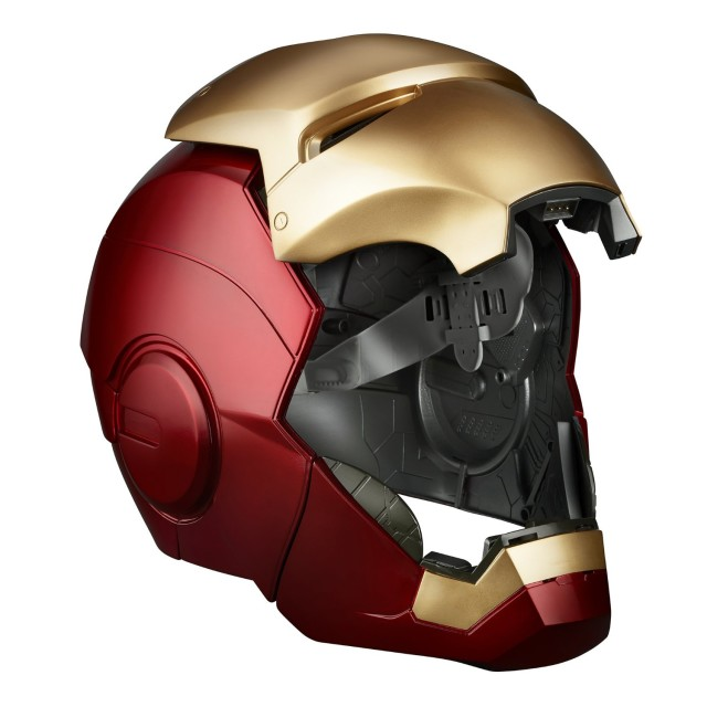 Marvel Legends Iron Man Helmet Open