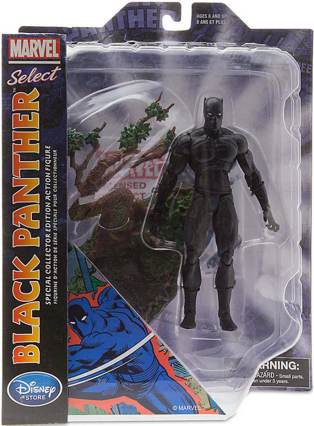 Marvel Select Black Panther Figure Packaged