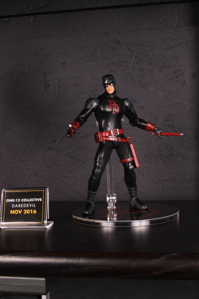 One12 Collective Black Daredevil Figure Toy Fair 2016
