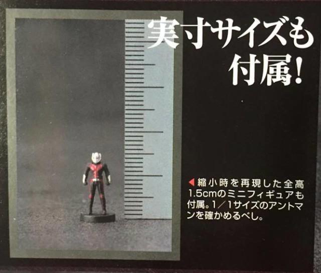 SH Figuarts Ant-Man Miniature 1.5 cm Figure