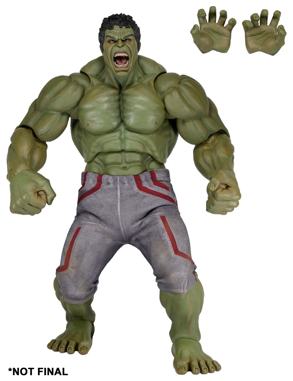 Avengers: Age of Ultron 1/4 Scale Hulk Preview by NECA - The ...