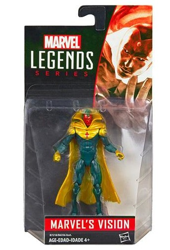 2016 Marvel Legends Vision Figure Packaged