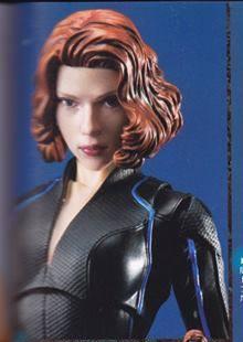 Bandai Figuarts Scarlett Johansson Head Sculpt