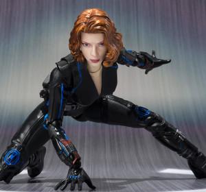 Bandai Japan Black Widow SH Figuarts Figure Crouching