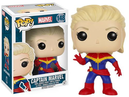 Funko Captain Marvel POP Vinyl Unmasked