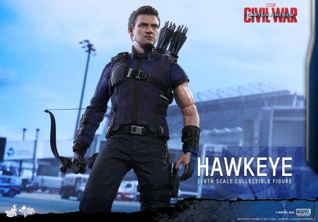 Hot Toys Hawkeye Civil War Movie Masterpiece Series Figure