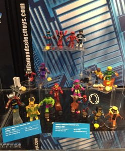 Best of Marvel Minimates 2016 Toy Fair Figures