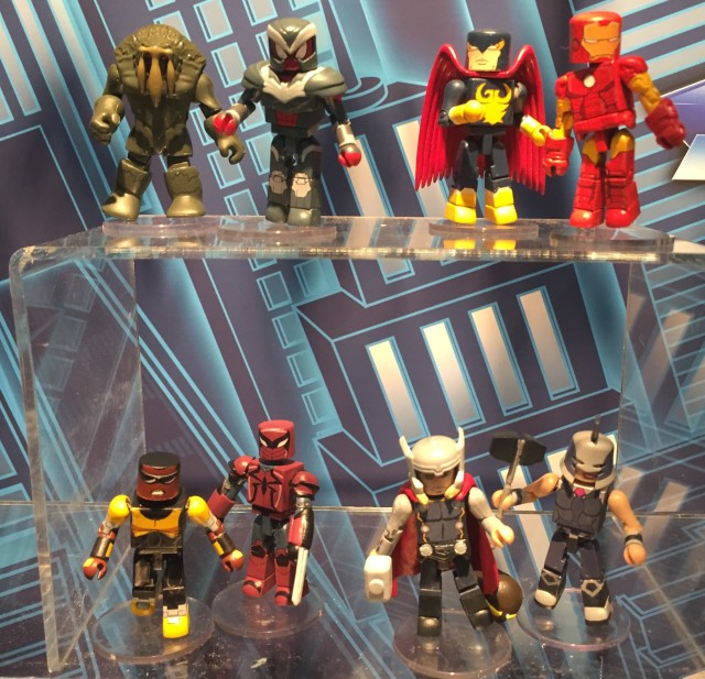 Walgreens Exclusive Marvel Animated Minimates Series 2.5