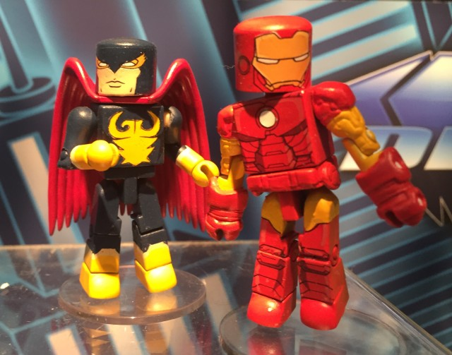 Walgreens Minimates Series 2.5 Nighthawk & Iron Man