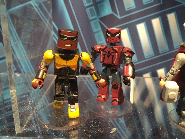Minimates Power Man & Spider-Knight Figures