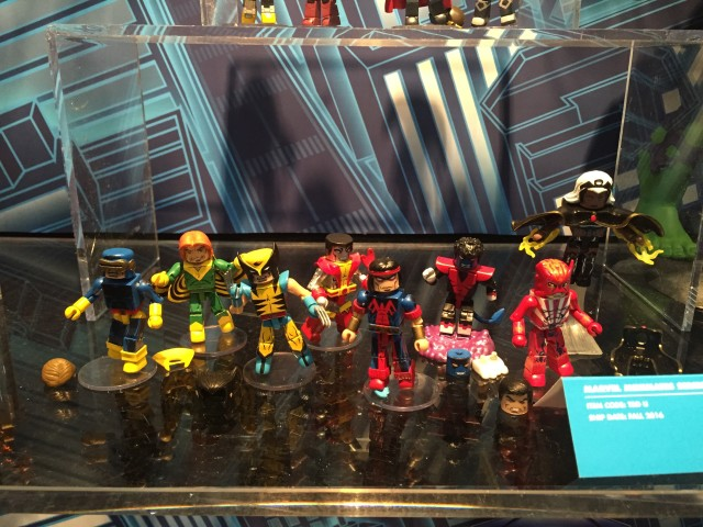 Giant-Size X-Men Minimates Series 68 at 2016 Toy Fair