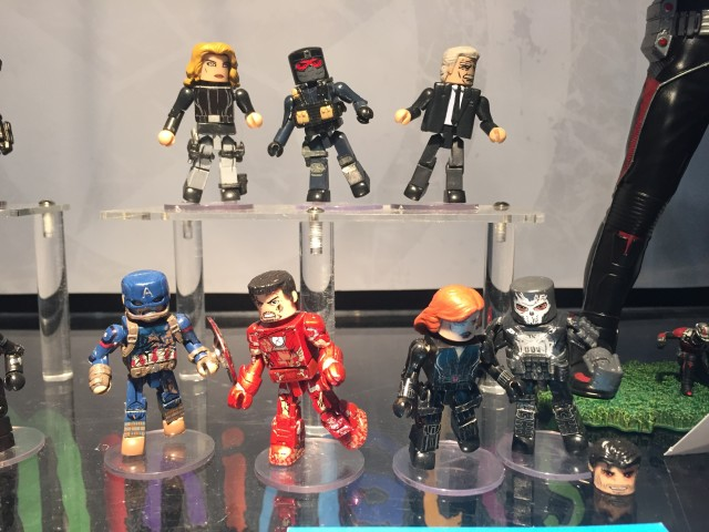 Marvel Minimates Civil War Wave 2 Toy Fair 2016