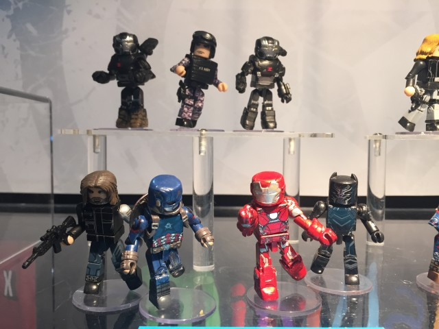 Captain America Civil War Minimates Series 1 Toy Fair 2016