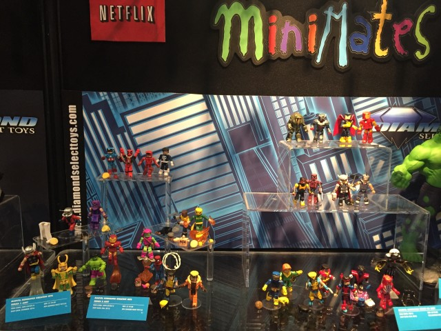 New York Toy Fair 2016 Marvel Minimates Display Diamond Select Toys