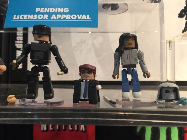 Marvel Minimates Netflix Daredevil Matt Murdock & Claire Temple Figures