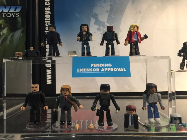 Minimates Netflix Daredevil & Jessica Jones Figures