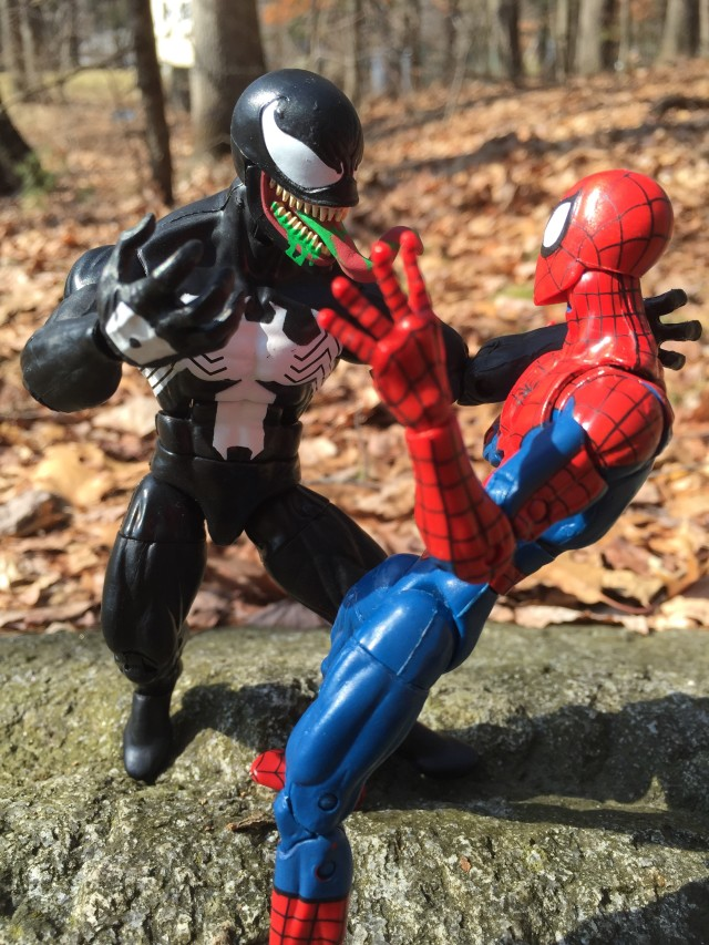 Spider-Man Legends Venom Figure Review