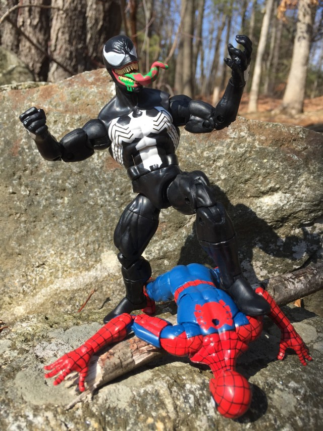 "Hasbro 2016 Marvel Legends Venom vs. Spider-Man 6"" Figures"