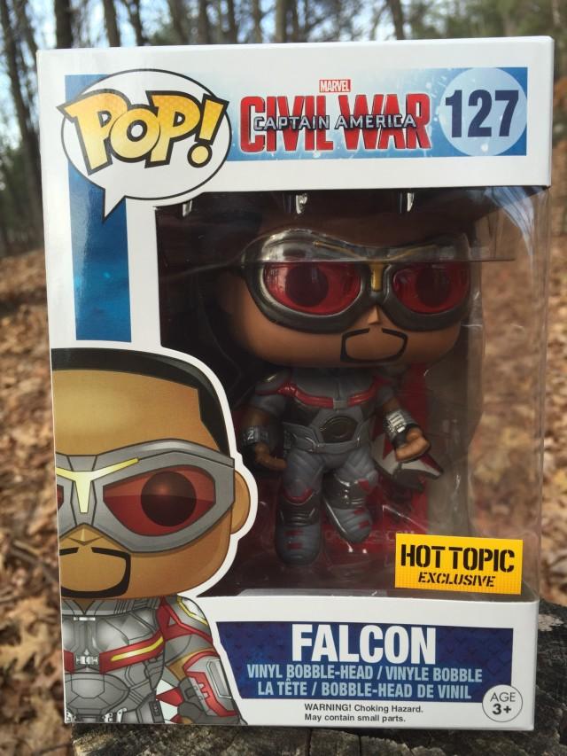 Captain America Civil War Falcon Funko POP Vinyl Box