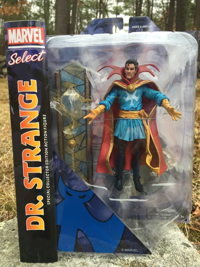 Marvel Select Doctor Strange Action Figure Packaged