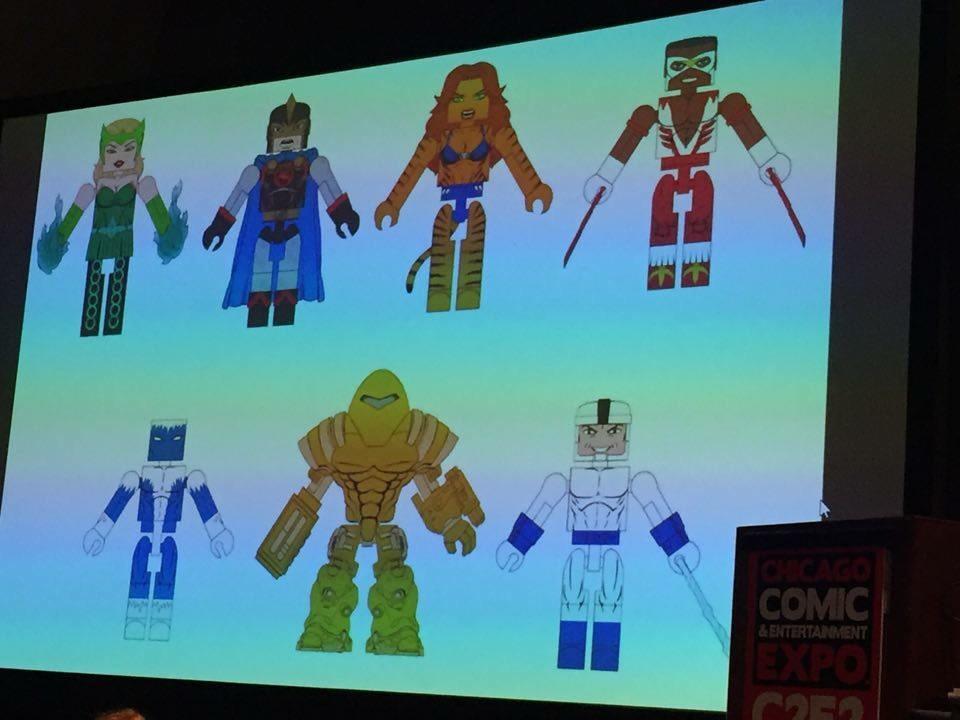 Minimates Blizzard Gregor Shapanka /& Mandroid Marvel Series 69 Classic Avengers