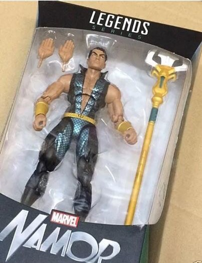 Packaged Marvel Legends Namor Walgreens Exclusive Figure
