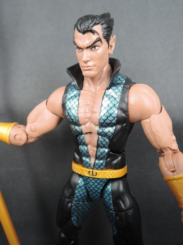 Marvel Legends 2016 Namor Figure Close-Up