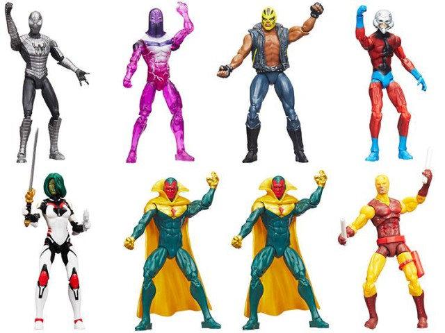 Marvel Legends 4 Inch Wave 2 Figures Case Ratios