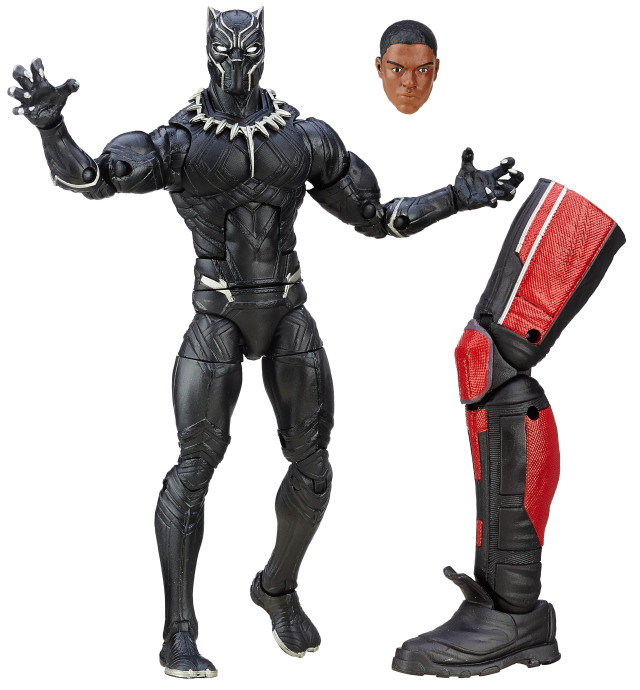 Marvel Legends Black Panther Figure with Giant-Man Leg